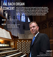 All-Bach Organ Concert